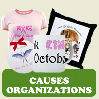 Cause &amp; Organization: Tees, Gifts &amp; Appare