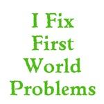 First World Problems Text