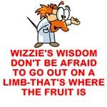 WIZZIE'S WISDOM