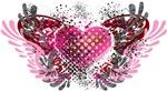 Valentine Heart Wings