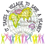 It Takes A Village Ecology T-Shirts And Gifts