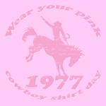 Pink Cowboy T-Shirt