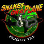 Snakes on a Plane Radar T-Shirts