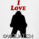 I Love Sasquatch T-Shirt