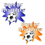 SOCCER GRANDMA GRANDPA T-SHIRTS AND GIFTS