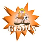 GIANTS SOCCER TEAM T-SHIRTS AND GIFTS