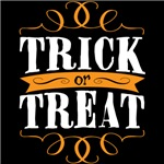 Trick or Treat elegant white