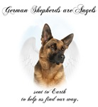 German Shepherd Angel