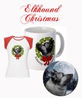 Elkhound Christmas
