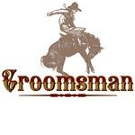 Groomsman Western T-Shirts