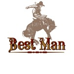 Best Man Western T-Shirts