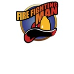 Fire Fighting Man T-Shirts