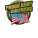 Army Girlfriend T-Shirts