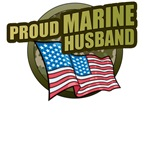 Marine Husband T-Shirts