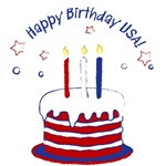 Happy Birthday USA T-Shirts