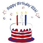 Happy Birthday USA T-Shirts