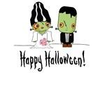 Frankenstein Couple T-Shirts