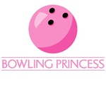 Bowling Princess T-Shirts