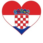 Heart of Croatia T-Shirts and Gifts