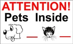 Pet Safety Home Stickers
