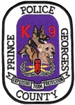 Prince Georges PD K9