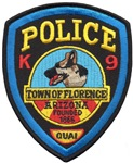 Florence PD Canine