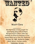 Wanted Wyatt Earp