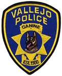 Vallejo PD Canine