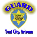 Guard Tent City Maricopa County