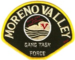 Moreno Valley Gang Task Force