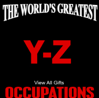 The World's Greatest Occupations Y-Z