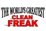 The World's Greatest Clean Freak