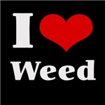 i love heart weed