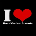 i love (heart) Kazakhstan accents