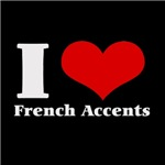i love (heart) french accents