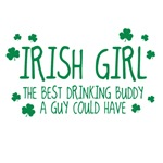 Irish Girl The Best Drinking Buddy A Guy Could Hav