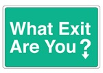 What Exit Are You?