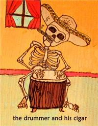 The drummer/El jugador