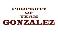 Property of Team Gonzalez