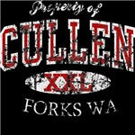 Cullen Property of Twilight t shirts