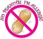 No Peanuts (pink symbol)