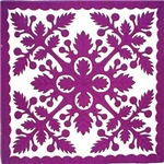 Purple Quilt Design