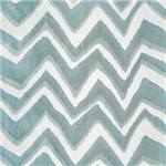 Funky Gray Blue Chevron