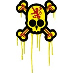 Scottish Punk Skull