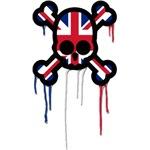 British Punk Skull