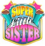 Pink Super Little Sister - Superhero