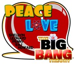 Peace Love Big Bang Theory