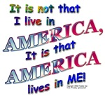 AMERICA LIVES IN ME