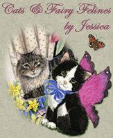Graceful Cats & Fairy Felines