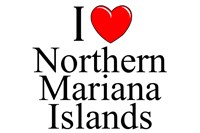 I Love Northern Mariana Islands